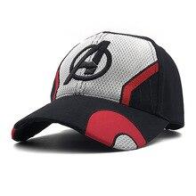 c4a5dd6c1feee Avengers Baru Endgame Topi Kostum Avengers Topi Kostum Cosplay Dewasa Kapas  Tutup Kepala Topi Bisbol Outdoor