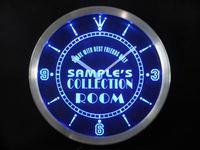 Nctn-tm אוסף מותאם אישית שם אישית שלט ניאון LED חדר סימן שעון Dropshipping הסיטונאי