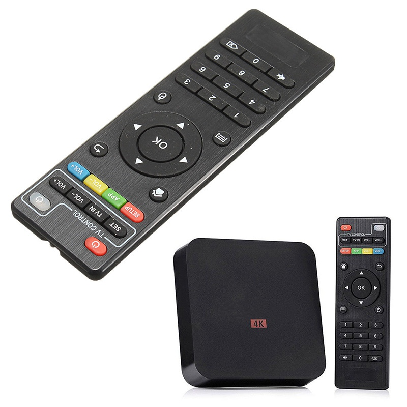 Android Smart <font><b>TV</b></font> <font><b>Box</b></font> Remote Controller Remote Control Replacement Controller for <font><b>TV</b></font> Set Top <font><b>Box</b></font> for H96 <font><b>MXQ</b></font> MX <font><b>Pro</b></font> <font><b>4K</b></font> T95M image