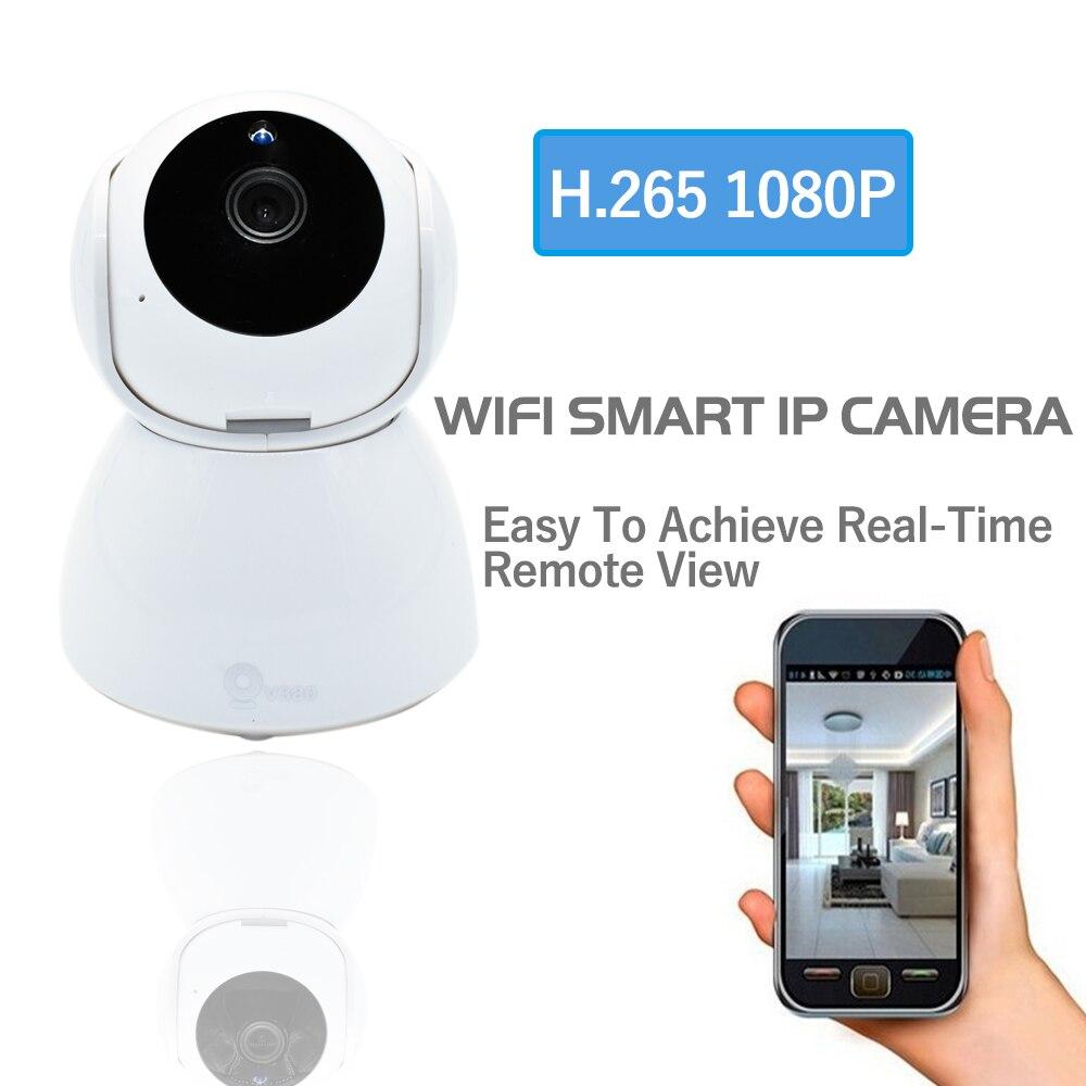 CCTV H.265 Wi-Fi ip-камера HD 1080 P Мини Беспроводной видео Видеоняни и радионяни P2P Крытый безопасности Smart ip камеры ИК Ночное видение Камера