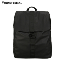 Knapsack Cloth Shoulder-Bag Oxford Female Waterproof Fashionable And Solid Couple Leisure-Style