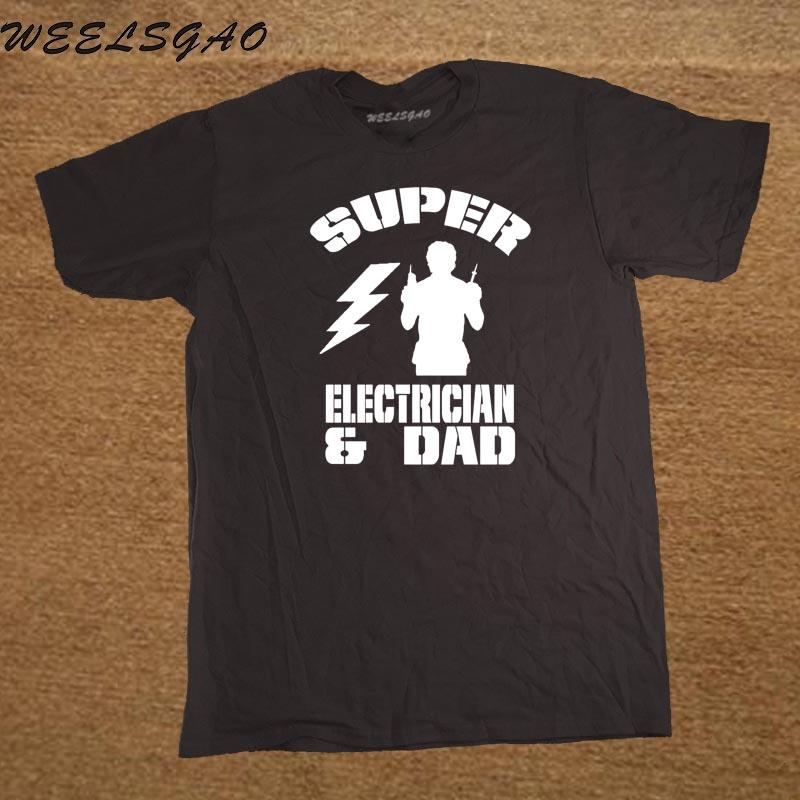 Super Elektriker und Dad herren lustige T shirt Geburtstag ...