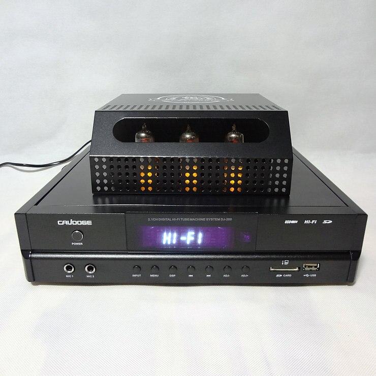 100 W * 2 + 150 W DJ-200 2.1 canal karaoké OK Fièvre Sans Fil Bluetooth Tube HIFI Amplificateur de son Domicile amplificateur