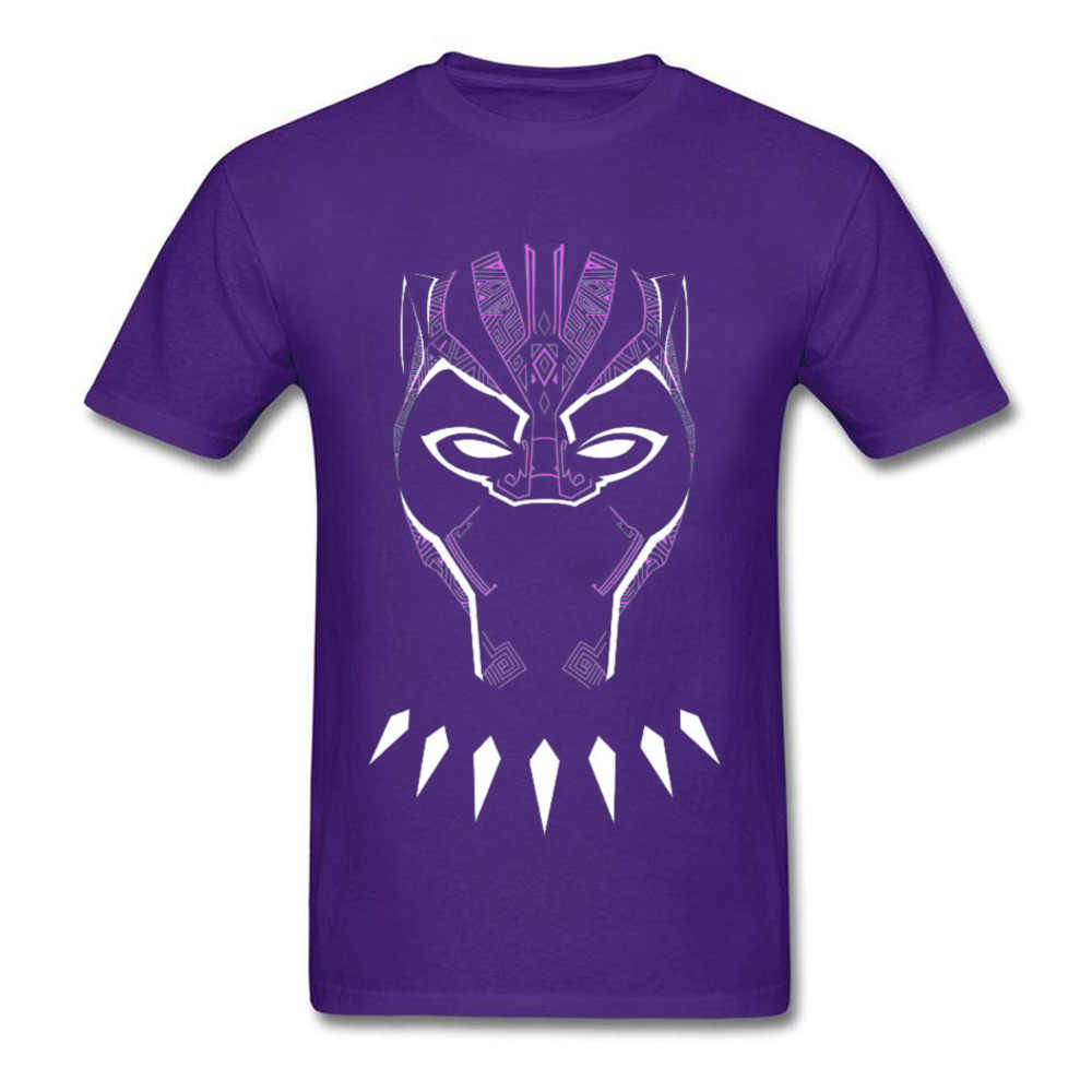 Pantera Negra maravilha Máscara Brilhante Tops Camiseta Vingadores Ironman Spriderman Esfriar Tshirts T'challa Wakanda Páscoa Mens Camiseta