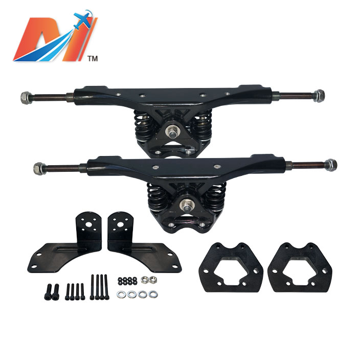 Maytech 1set (2pcs)e Off Road Mountainboard Back Truck And Front Truck With Pulley And Mount For Electric Mountainboard