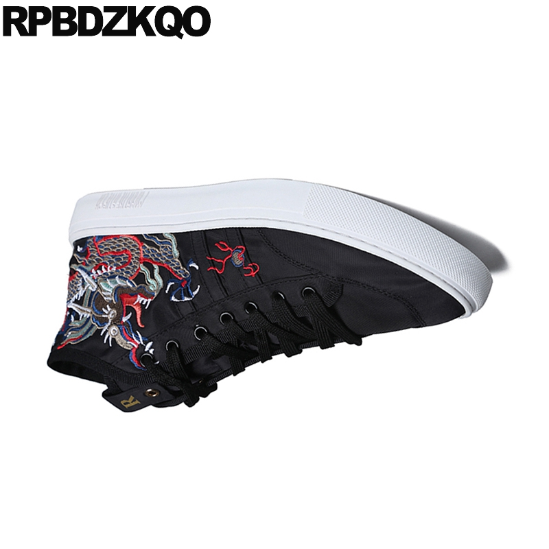 307ab304d15f1 Animal Hombres Rojo Top Negro Lujo De Zapatos Pista Black Alta Elevator Hip  Hop Print Zapatillas black red Ascensor Elevator Nuevo ...