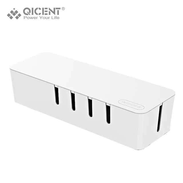 QICENT Cable Management Organizer, Cable Cord Wire Cover Hider Sleeves for Power Strip Surge Protector-in Accessory Bundles from Cellphones & ...