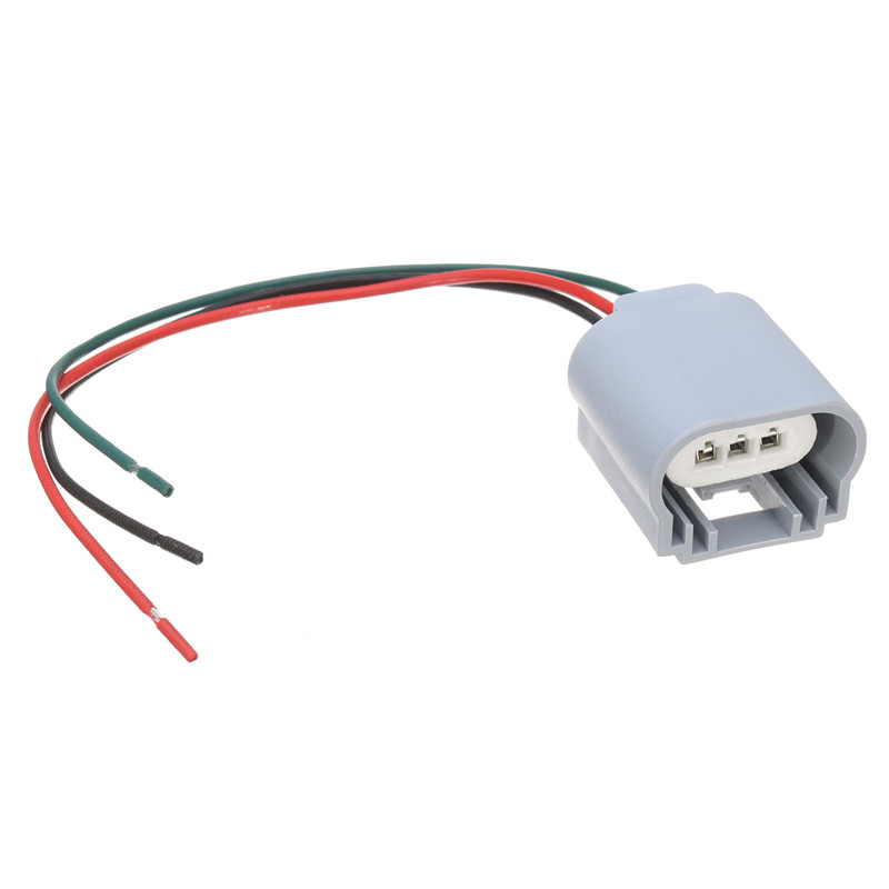 2PCS H13 Headlight Bulb Male Wire Harness Connector Wiring Plug Socket Adapters H13 Bulb Holder 2pcs h13 headlight bulb male wire harness connector wiring plug h13 bulb wiring at nearapp.co