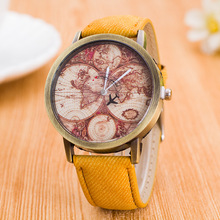 Unisex Vintage Fashion Canvas Strap Travel Watches