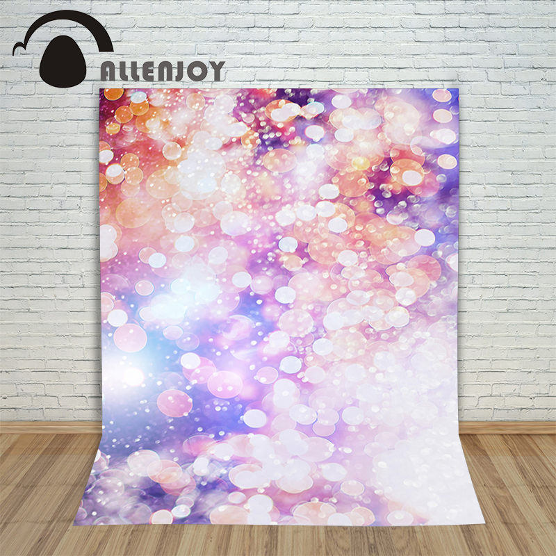 Allenjoy Background photography vinyl backdrop Light spots blur color for a photo shoot photographic camera christmas backdrop photography allenjoy snowflake stars blur background photographic studio children s camera digital printing