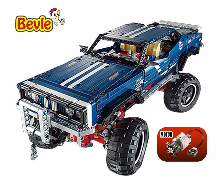 2017 NEW Lepin 20011 1605pcs Technic Remote Control Electric Off-road Vehicles Building Block Toys Gift For Children 41999 lepin 20011 technic series remote control electric off road vehicles set diy model car building kits blocks bricks children toys