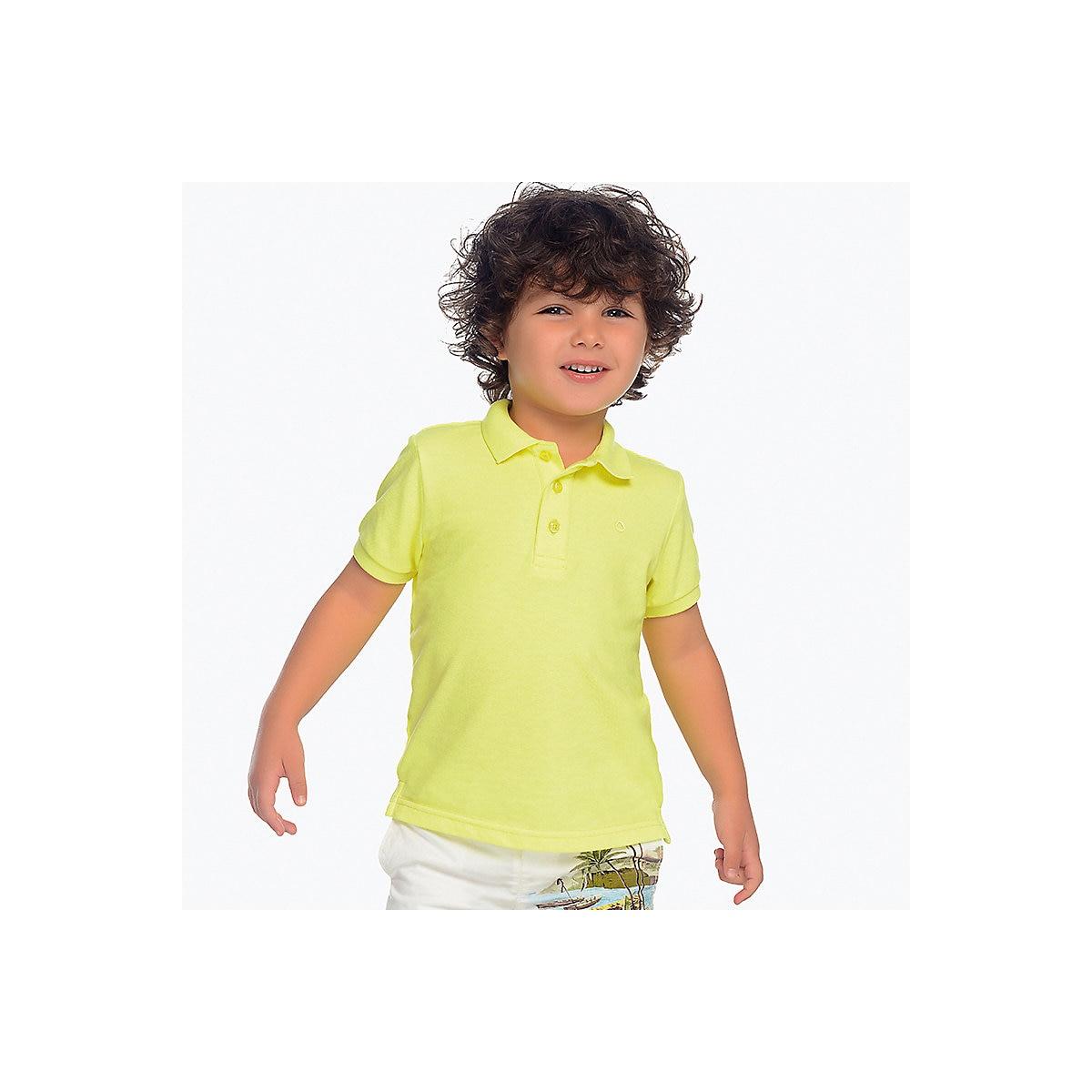 MAYORAL Polo Shirts 10683085 children clothing t-shirt shirt the print for boys