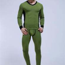 WJ Cotton Underwear Winter Thermal Long Johns Set Cueca Comfy Men's Warm Pajamas Gay