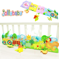 Baby Toys Cloth Book Educational Retail Knowledge Around Multi Touch Multifunction Fun And Colorful Bed Bumper