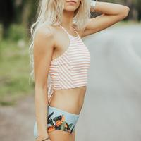 2017 Sexy High Neck Bikini Women Swimwear Push Up Swimsuit Biquini Beach Wear Switchback Brazilian Bikinis