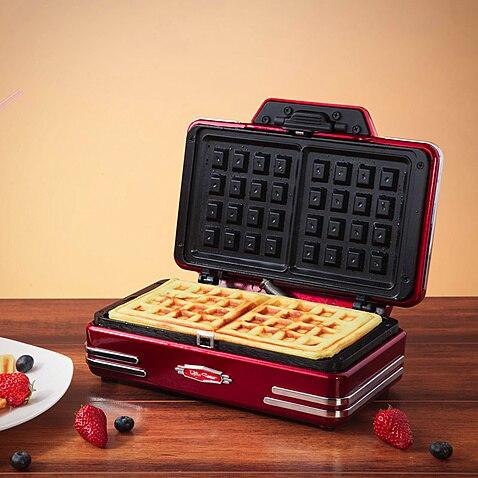 Electric Home family birthday christmas gift US waffle maker mini waffle machine gift n home