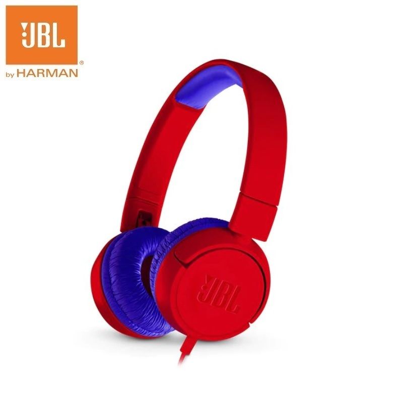 JBL JR300 Wired Headphone Exclusive Headset With Safe Sound Technology for Children Study Headphones jbl jr300 red