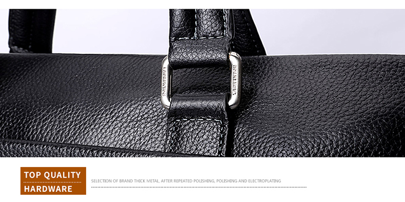 Fashion Stop118 Briefcases Leather 18