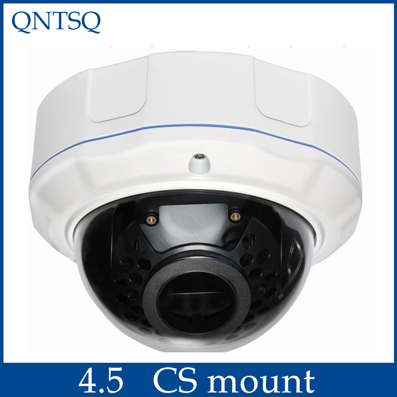 CCTV Camera Metal Dome Housing Cover,Vandal-proof Dome Camera Housing(CS Mount)