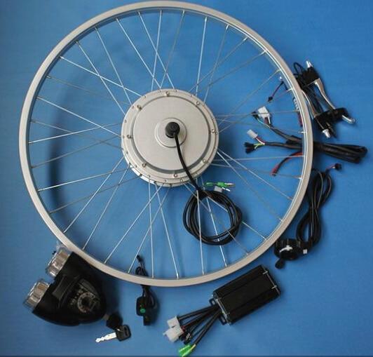 24v36v48v 250 w avant conduit vtt à vélo électrique kit de conversion bricolage pièces pour v frein 20''24''26''700cc roue jante BLDC moteur