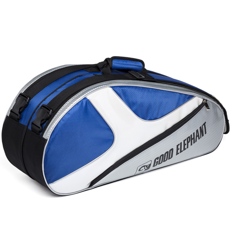 Men Women Professional Badminton Tennis Racquet Sport Bags Independent Shoes Storage Large Waterproof Fitness Gym Bag HAB504