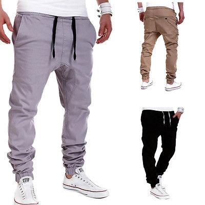 NEUHEITEN Männer Casual Jogger Dance Sportwear Baggy Pluderhosen - Herrenbekleidung - Foto 1