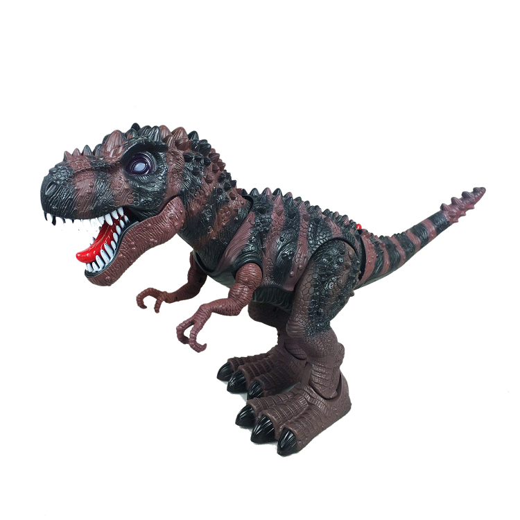 Tyrannosaurus Rex Electric Light Music Dinosaur Walking Educational Toys Battery Operated Electronic Movie & Tv Ready-to-go
