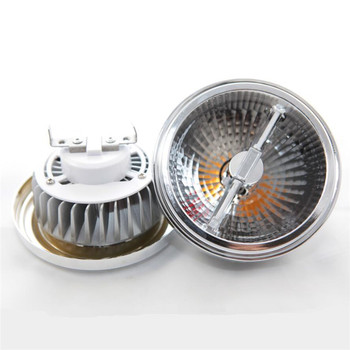 Wholesales 14W COB AR111 LED Spotlight 2x7W AR111 G53 GU10 LED Recessed Light LED Bulb Lamp,DC12V/AC85v-265V