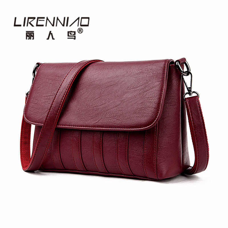 2017 New fashion brand retro women messenger bags small shoulder bag high quality designer handbags leather tote bag Ladies sac
