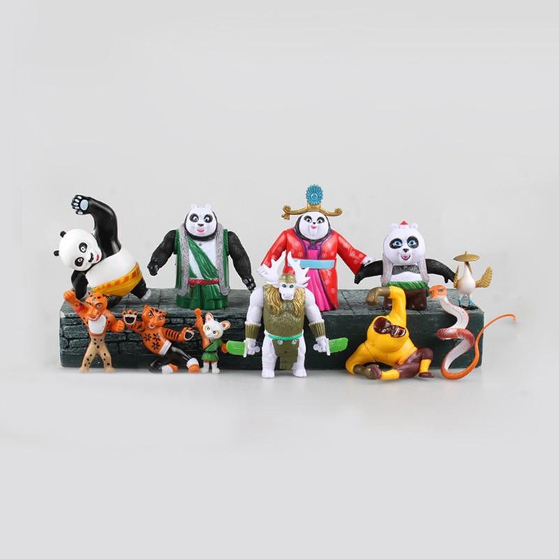 11pcs Pack Kung Fu Panda 3 Po Meimei Tigress Viper 6 11 5cm Pvc