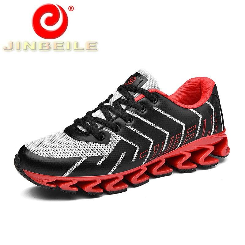 JINBEILE Unisexe de Course En Plein Air Sneakers Mesh Respirant Hommes et Femmes Sport Chaussures Unique Lame Conception Hommes Chaussures de Course