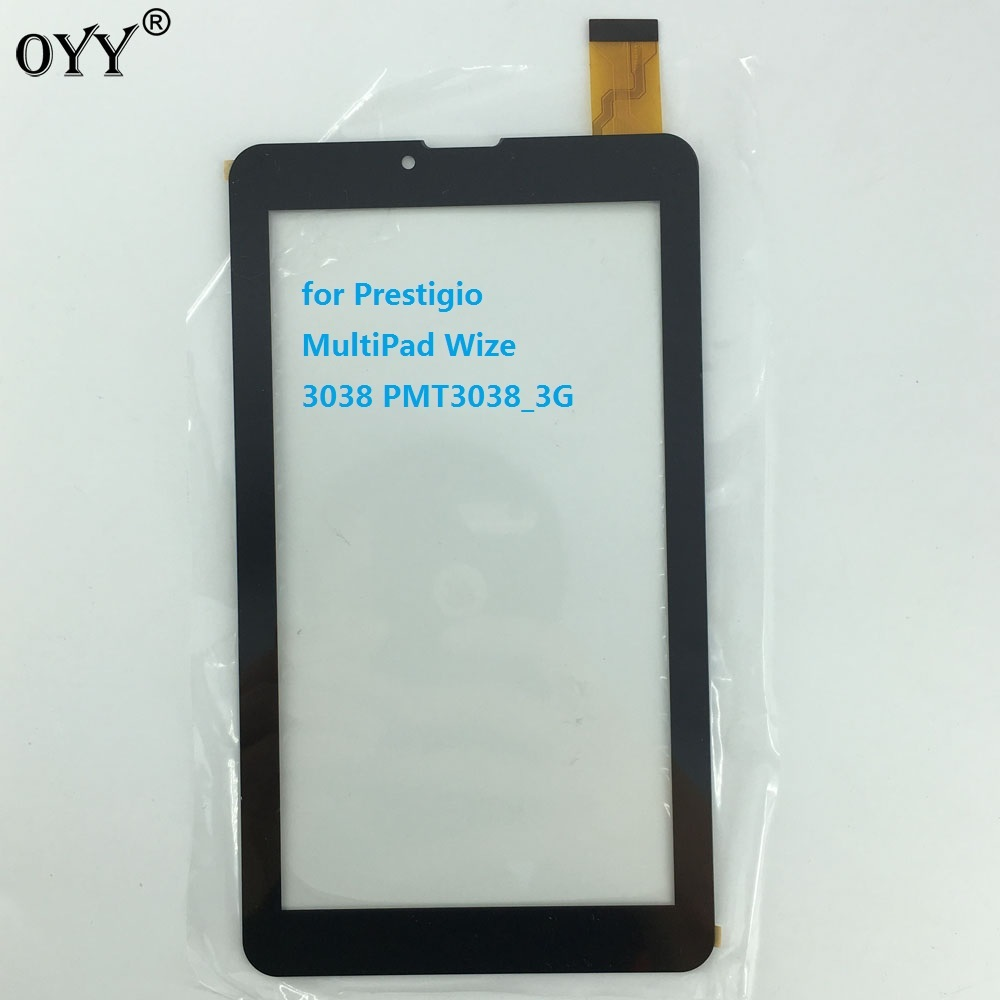 7 inch capacitive touch screen capacitance panel digitizer glass for Prestigio MultiPad Wize 3038 PMT3038_3G tabelt pc black 10 1 inch capacitance touch screen panel digitizer glass ytg p10008 f5 free shipping with tracking no
