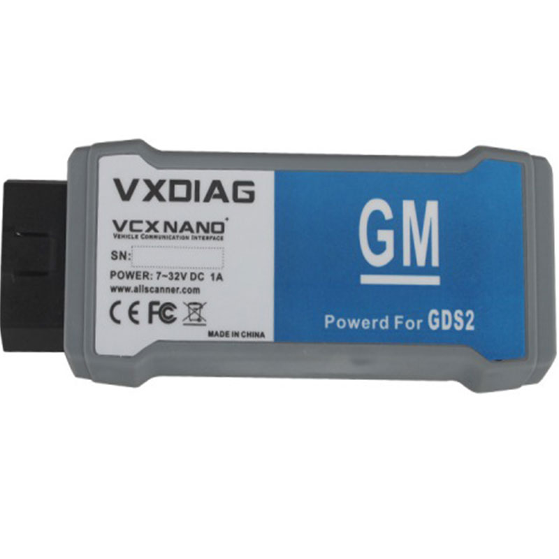 Auto Scanner VXDIAG VCX NANO Multiple Diagnostic-tool Support GDS2 TIS2WEB System for G-M/Opel USB Cable Car Diagnostic tool