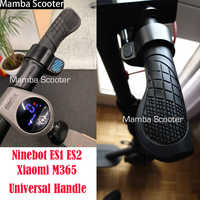 Custom Xiaomi Mijia M365 Ninebot ES1 ES2 Electric Scooter Handle Bar Grips Fixed Gear Anti-slip Rubber for Skateboard Accessory