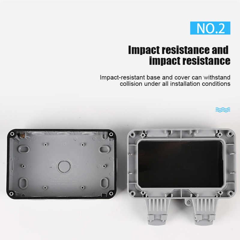 Wysokiej gniazdko ścienne Case wodoodporna IP66 Anti-kurz łatwa instalacja LG66