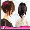 Бесплатная доставка glueless богородицы краткое полный парики 150% плотность человека бразильские волосы парики с ребенком волос вокруг для чернокожих женщин