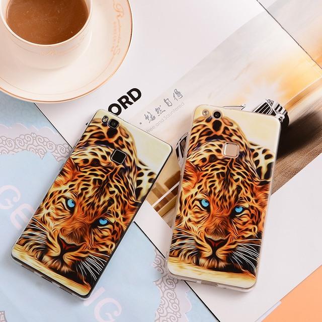 Animal Phone Case Huawei P8 Lite P9 P10 Plus P7