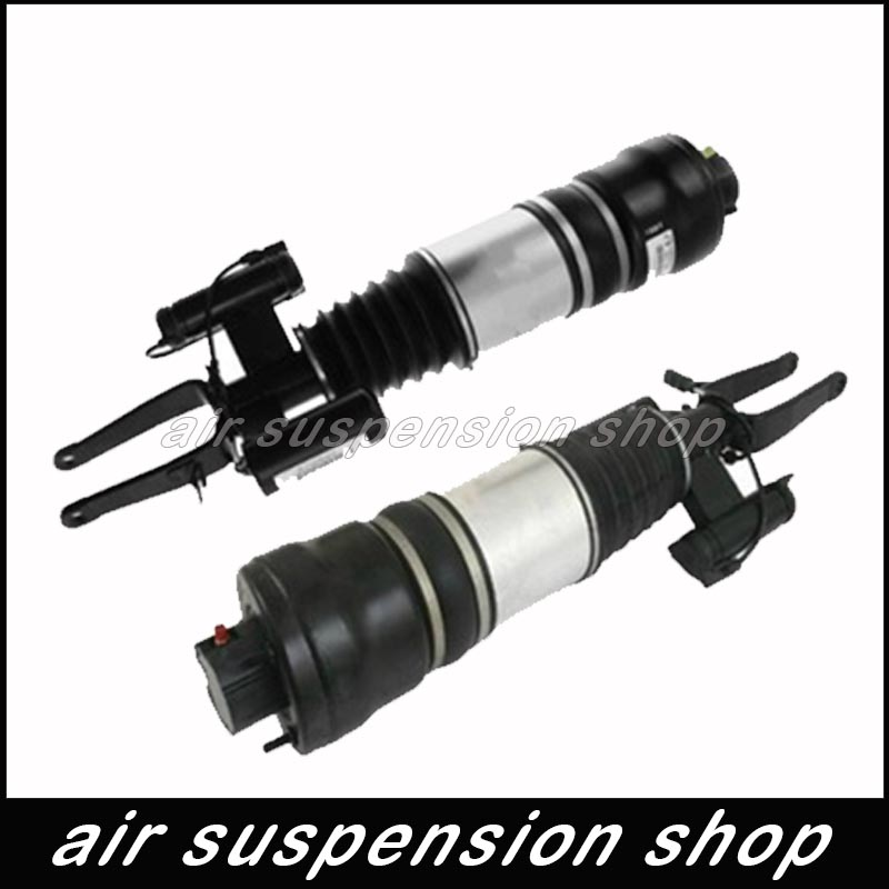 Pair Air Suspension Shock Strut Absorber For Mercedes Benz E Class W211 4matic Front Left + Right 2113209613 2113209513 for audi q7 front left touareg carenne new oem air suspension repair kits oe no 7l8616403b e 7l6616403b e 7l5616403b e