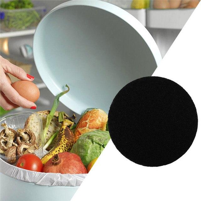 Pacote 12 Escaninho De Adubo de Cozinha Filtros de Substituição de Refil Do Filtro De Carvão Ativado Capacidade de Adsorção Forte Desodorização Filtro