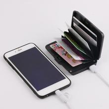 2 in 1 E-Charge Wallet Wallets And Purses Ladies Clutch Coin