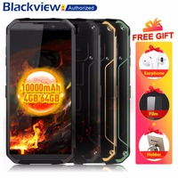 Blackview BV9500 4G Mobile Phone Android 8.1 Octa Core 5.7 18:9 MTK6763T 4GB RAM 64GB ROM IP68 Waterproof Smartphone NFC OTG