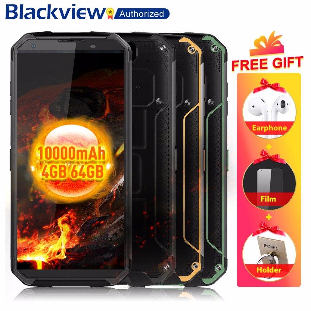 Blackview BV9500 4G Telefone Móvel Android 8.1 Núcleo octa 5.7