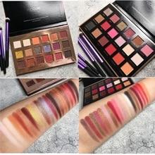 Eyeshadow Palette 18 Color Makeup Matte Shimmer Shining Glitter Pigment Cosmetics Eye