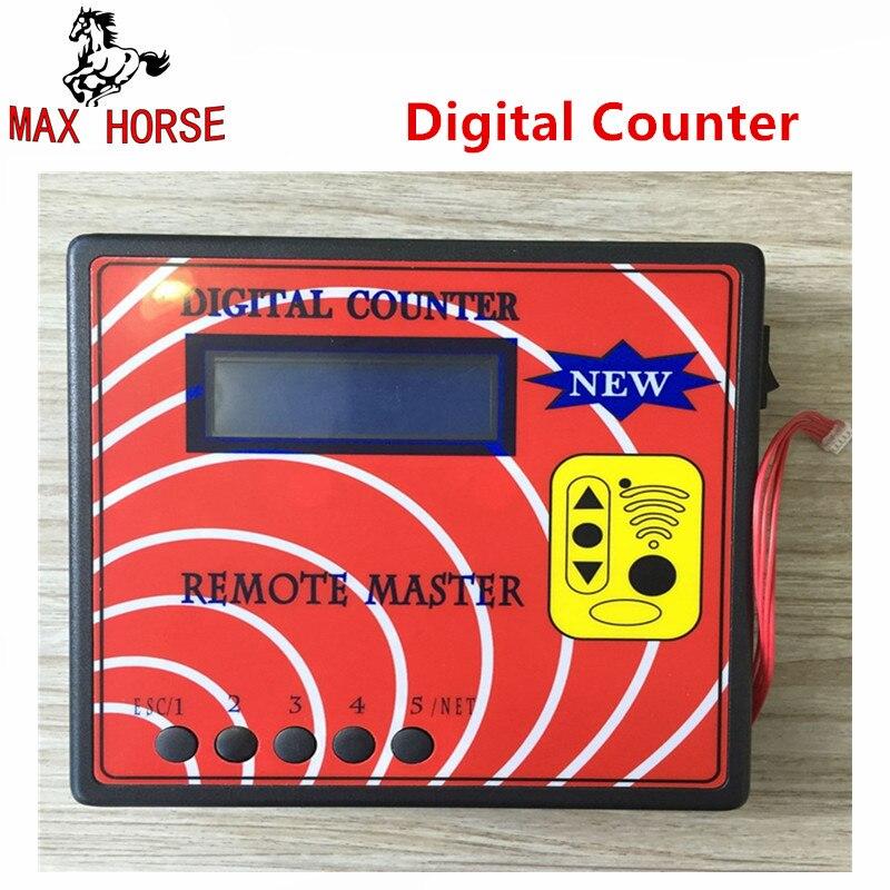 Nouveau compteur numérique à distance maître fréquence affichage Machine sans fil copieur à distance régénérer Rf copie automatique clé programmeur outil