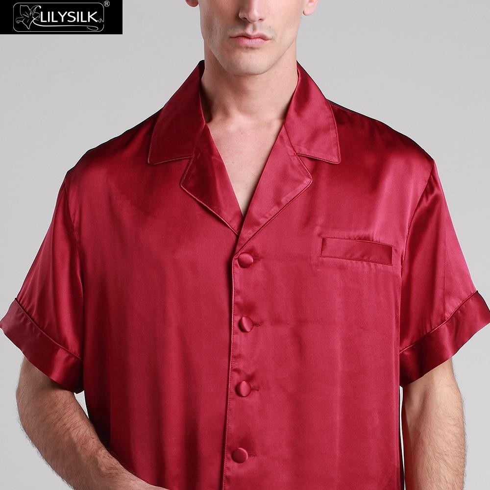 1000-claret-22-momme-classic-short-silk-pyjamas-set-01