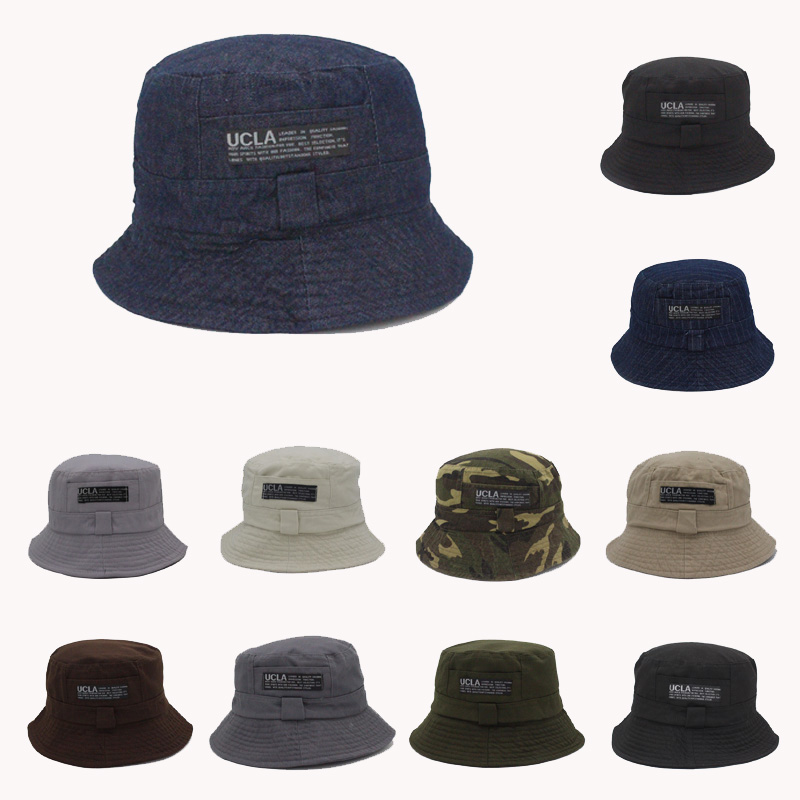 2016 Moda Cottonblend traper Unisex kapa vedro šešir ljeto otvoreni - Pribor za odjeću - Foto 2