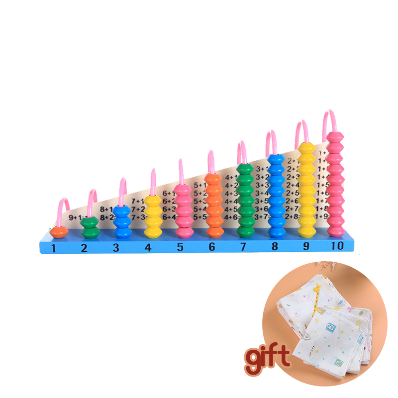 Baby Abacus Toy Kids Educational Wooden Abacus Baby Counting Number Frame Calculation Counter Calculator Math Counting Toys wooden educational tool number building blocks number sticks kids math learning educational toy ao p