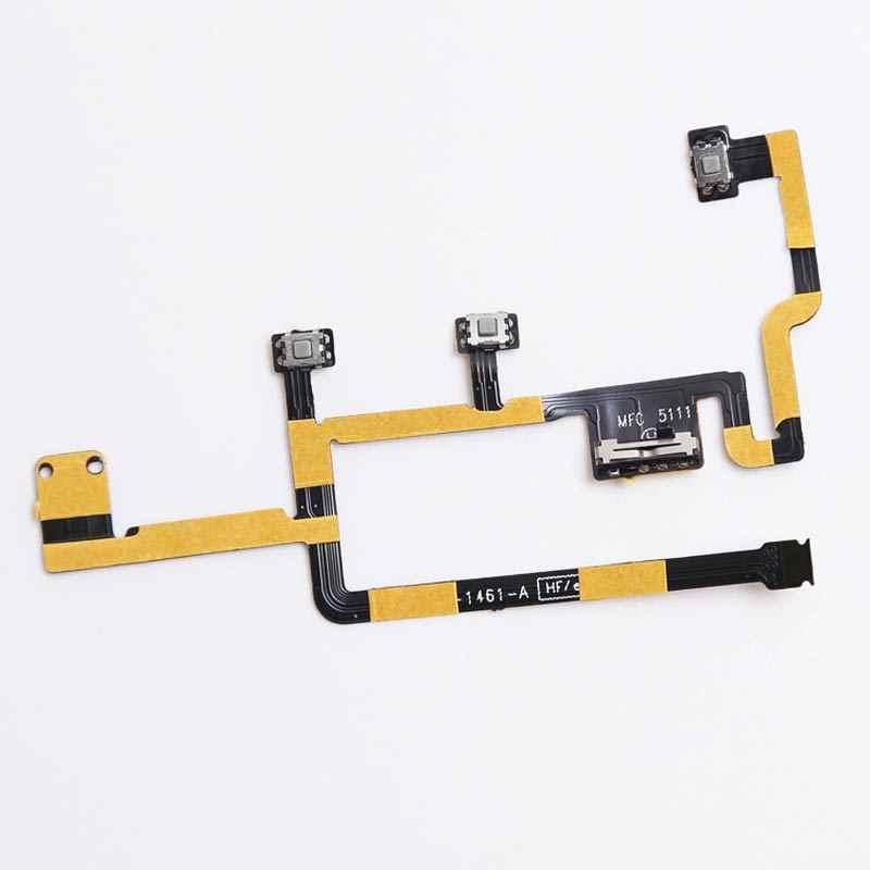 Kabel Tombol Volume Fleksibel untuk iPad 2 Biarkan 3G Wifi A1395 A1396 Power On/OFF Switch Silent Bisu gratis Shippin