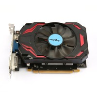 Video Card HD7770 4G 128bit GDDR5 Gaming Video Graphics Card One Cooling Fan Gaming Desktop Computer