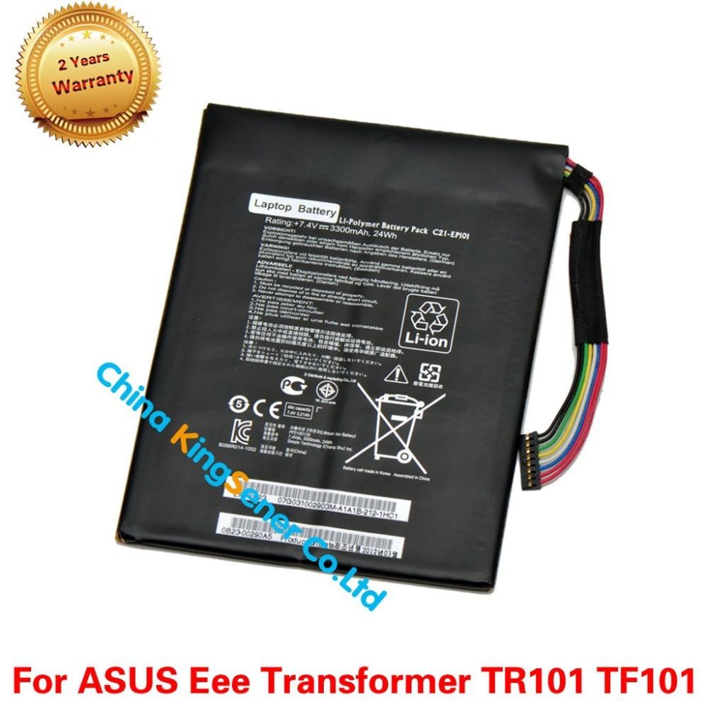 ФОТО Korea Cell Genuine New C21-EP101 C21EP101 Laptop Battery for ASUS Eee Pad Transformer TF101 TR101 7.4V 3300mAh